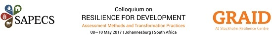 Colloquium on 'Resilience for Development'